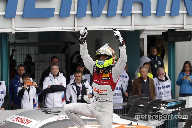 Race winner Jamie Green, Audi Sport Team Rosberg, Audi RS 5 DTM