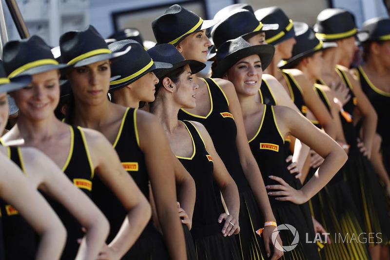 Chicas Pirelli