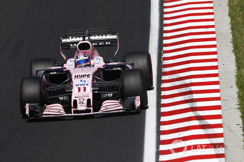 7. Sergio Perez, Sahara Force India F1 VJM10
