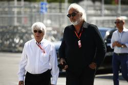 Bernie Ecclestone, et Flavio Briatore