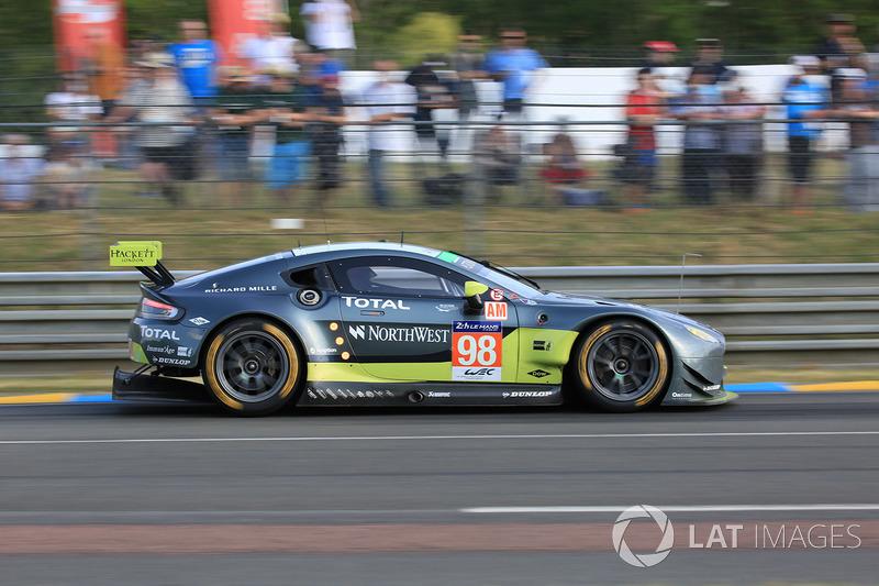 46. №98 Aston Martin Racing Aston Martin Vantage: Пол Далла-Лана, Педро Лами, Матиас Лауда