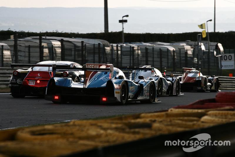#25 Algarve Pro Racing, Ligier JS P2-Nissan: Michael Munemann, Jonathan Hirschi, Andrea Pizzitola