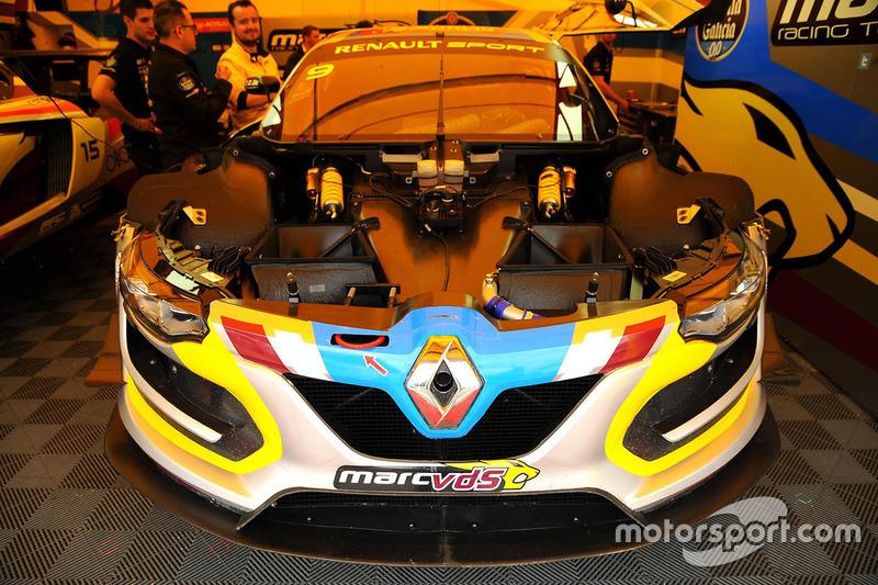 #9 Team Marc VDS, Renault RS01: Markus Palttala, Fabian Schiller