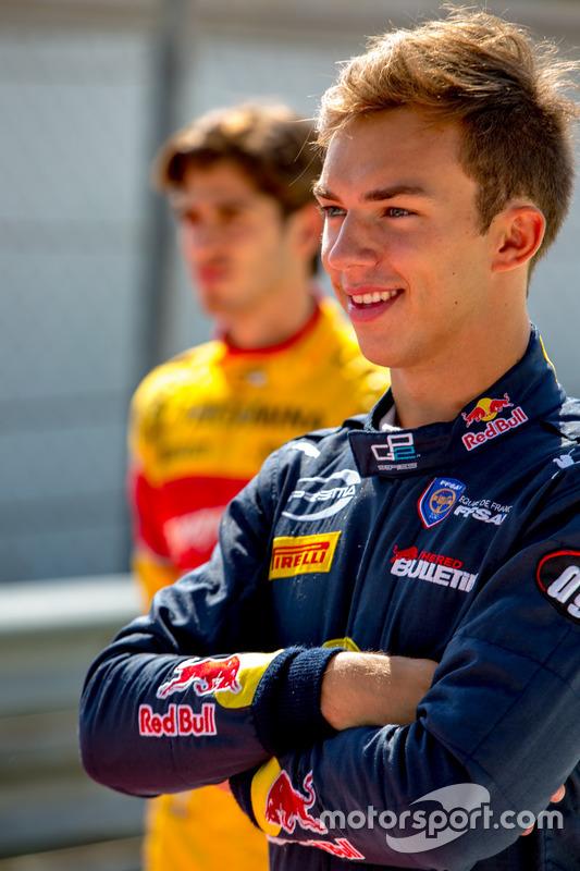 Pierre Gasly, PREMA Racing ve Antonio Giovinazzi, PREMA Racing