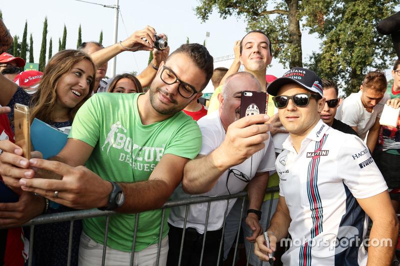 Felipe Massa, Williams taraftarlar ile