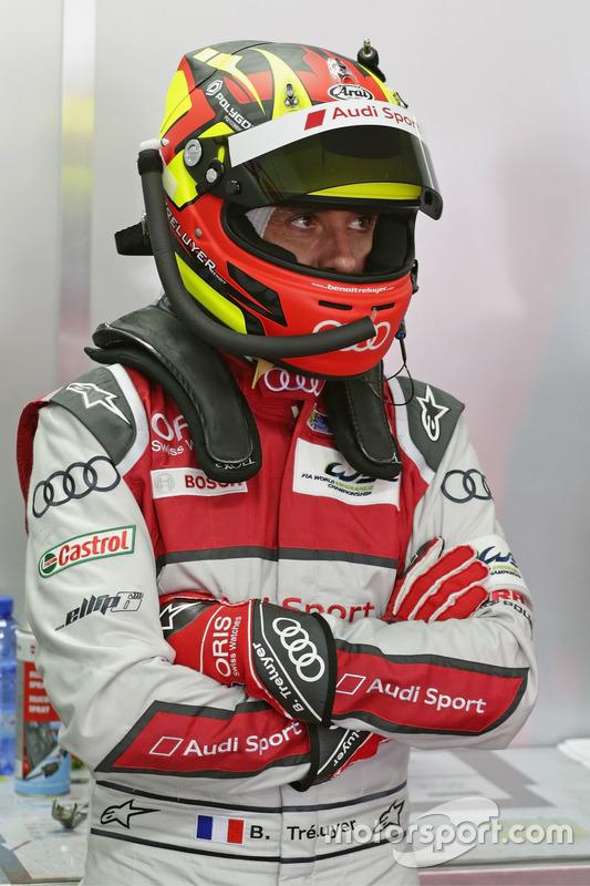 #7 Audi Sport Team Joest Audi R18: Benoit Tréluyer
