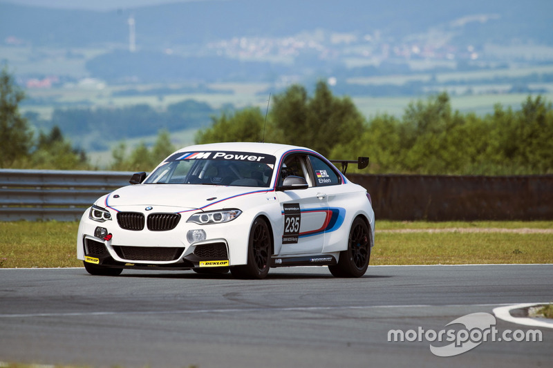 Stefan Ehlen, Test BMW M235i Cup Racing