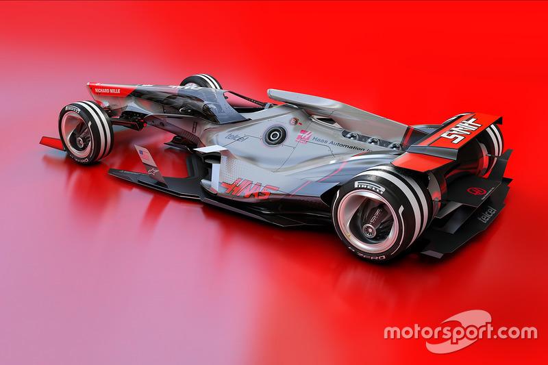 Concept Haas F1 Team 2030
