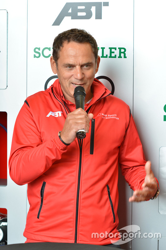 Jurgen Abt, head of ABT Schaeffler Audi Sport