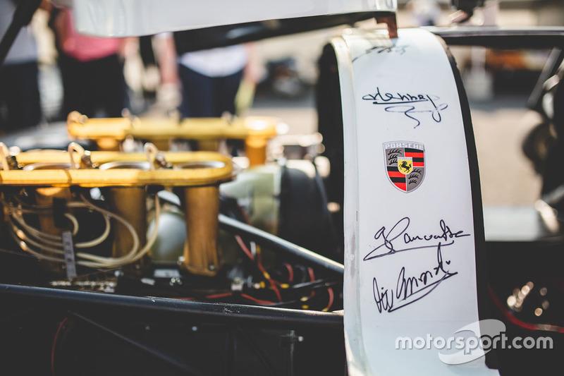 1968 Porsche 908 LH detail