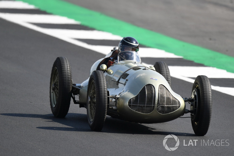 Auto Union at Silverstone 70th Anniversary Parade