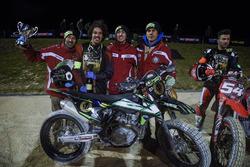 Franco Morbidelli, Mattia Pasini, ganan los 100 Km dei Campioni