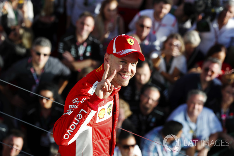 Победитель Себастьян Феттель, Ferrari
