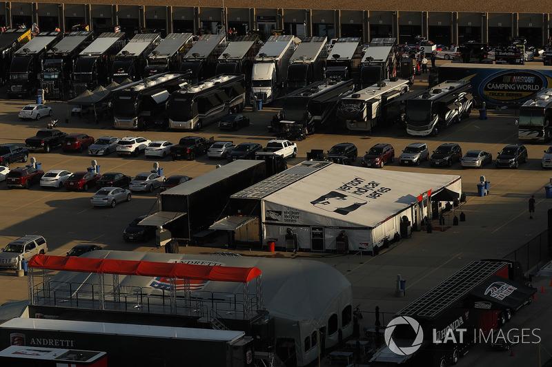 IndyCar paddock hospitality