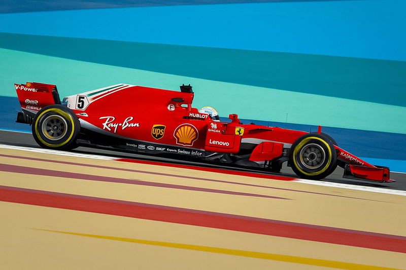 Ferrari SF71H ohne Halo (Fotomontage)