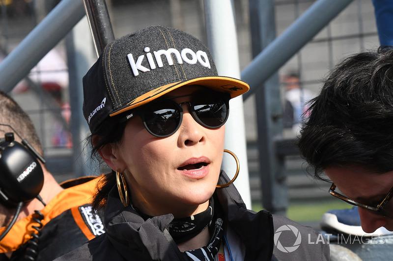 Corinna Lau, sur la grille