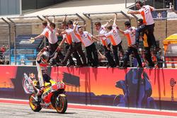 Yarış galibi Marc Marquez, Repsol Honda Team