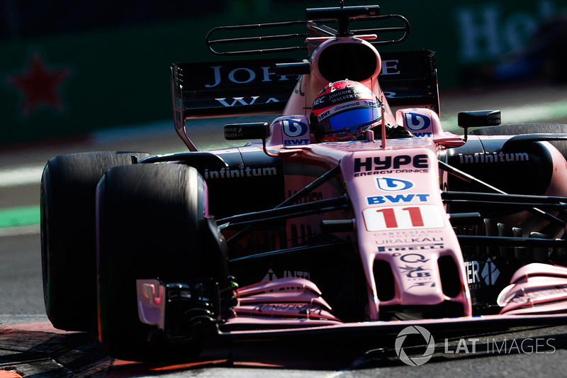 Sergio Pérez, Sahara Force India F1 VJM10