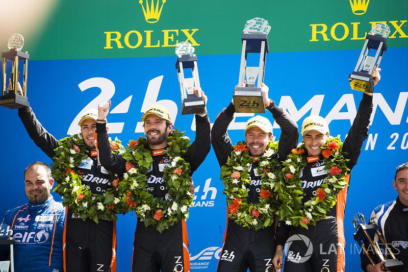 В LMP2 с большим преимуществом победили Роман Русинов, Андреа Пиццитола и Жан-Эрик Вернь из G-Drive Racing