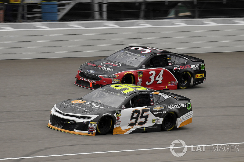 Kasey Kahne, Leavine Family Racing, Chevrolet Camaro Chevy Accessories e Michael McDowell, Front Row