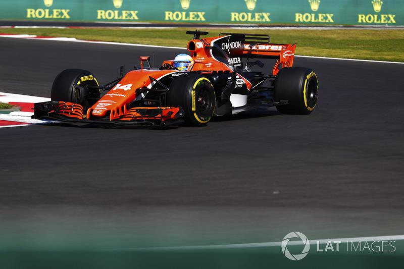 7. Fernando Alonso, McLaren MCL32