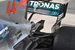 Mercedes AMG F1 W08: Heckflügel