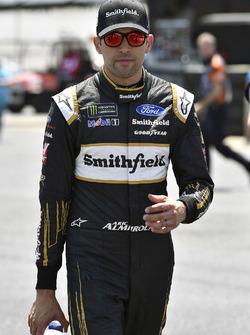 Aric Almirola, Stewart-Haas Racing, Ford Fusion Smithfield