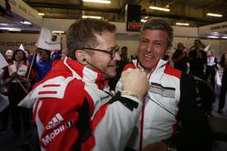 Fritz Enzinger, head of Porsche Team, Andreas Seidl, Porsche Team leader