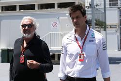 Flavio Briatore, Toto Wolff, Mercedes AMG F1 Direktörü