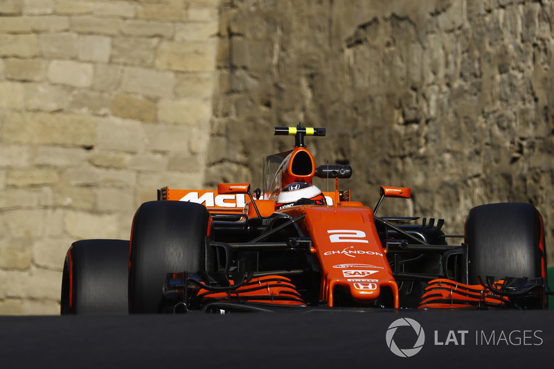 18. Стоффель Вандорн, McLaren MCL32