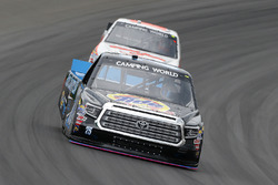 Parker Kligerman, Henderson Motorsports Toyota and Austin Hill, Whitetail Heaven Outfitters Ford F150