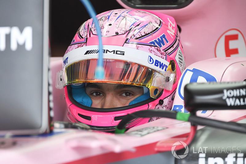 Естебан Окон, Sahara Force India VJM10