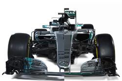 Порівняння Mercedes W07 та W08
