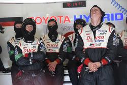 Miembros del equipo Toyota Gazoo Racing