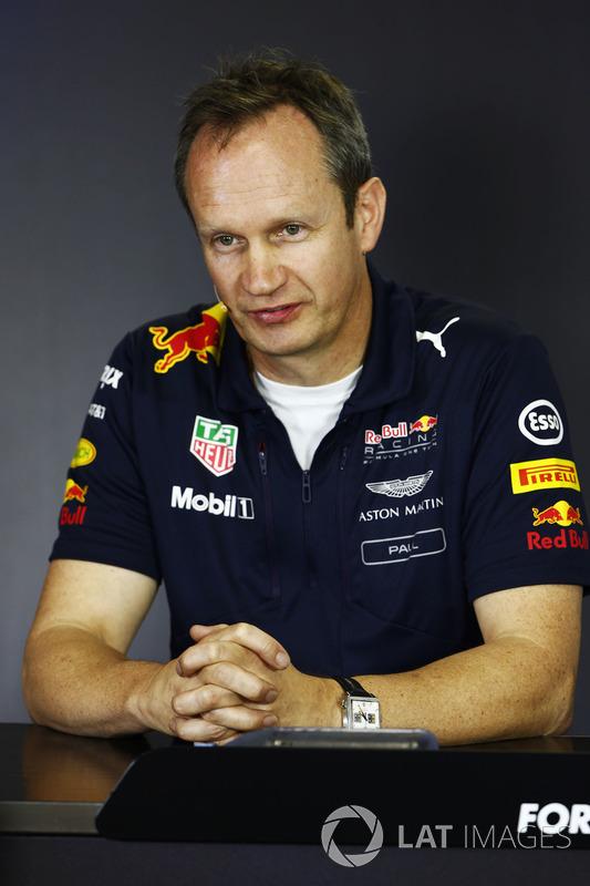 Paul Monaghan, jefe de ingenieros Red Bull Racing