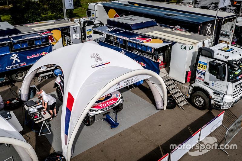 Service-Park: Peugeot Sport