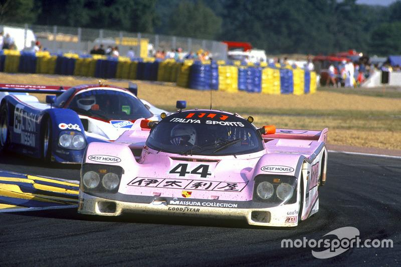 John Watson, Bruno Giacomelli, Allen Berg, Porsche 962C; Bob Earl, Michael Roe, Steve Millen, Nissan R90CK