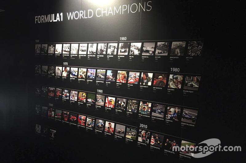 Хорхе Лоренсо, №99 на відкритті Музею Чемпіонів Світу