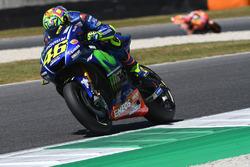 Valentino Rossi, Yamaha Factory Racing; Marc Marquez, Repsol Honda Team