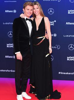Nico Rosberg and wife Vivian Rosberg
