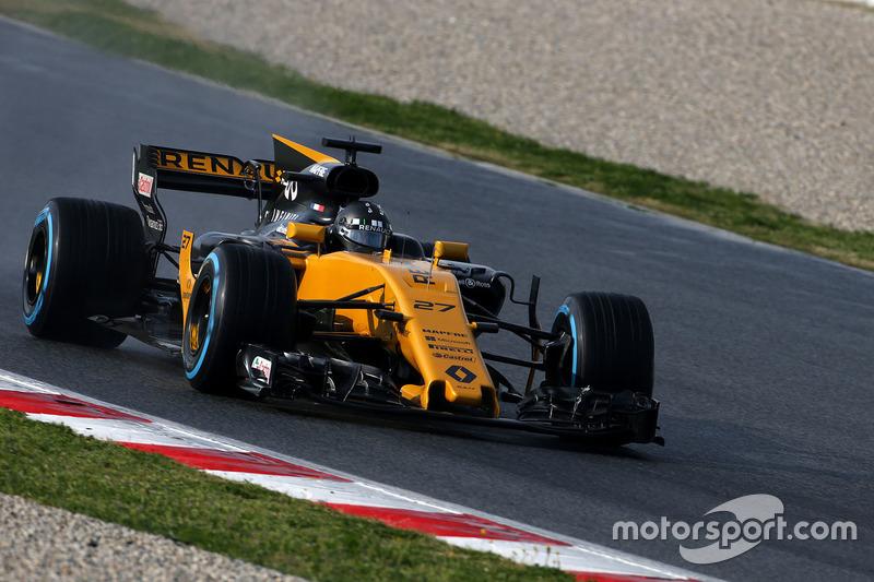 8º Nico Hulkenberg, Renault Sport F1 Team RS17, 1:21.791, blandos, (169 vueltas)