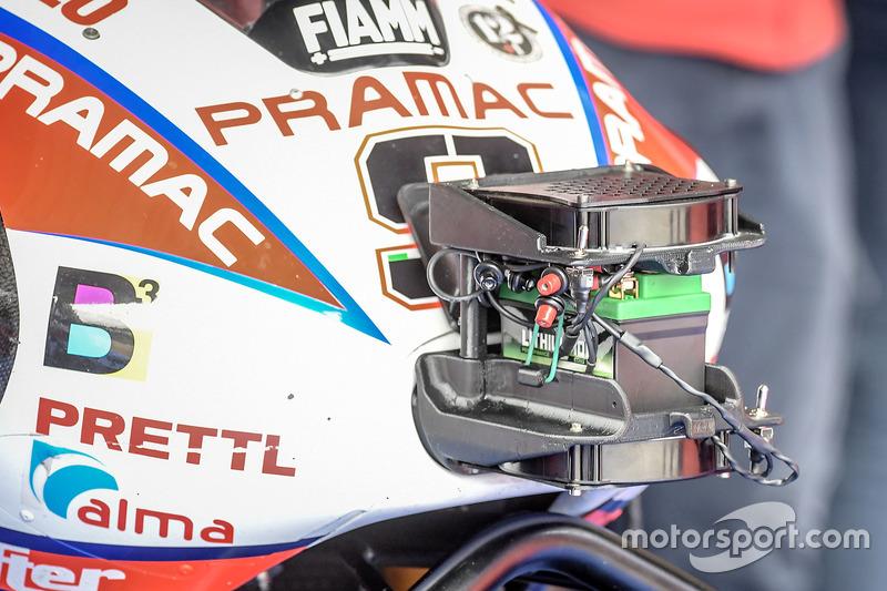 Деталь мотоцикла Даніло Петруччі, Pramac Racing