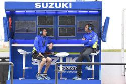 Team Suzuki MotoGP team members