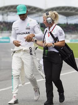 Lewis Hamilton, Mercedes AMG F1