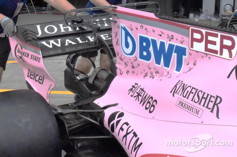 """Сідало мавпи"" Sahara Force India VJM10"