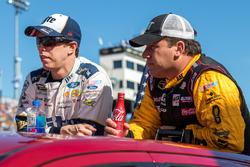 Brad Keselowski, Team Penske Ford, Ryan Newman, Richard Childress Racing Chevrolet