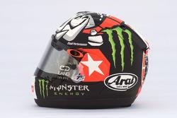Nuevo casco Maverick Viñales, Yamaha Factory Racing
