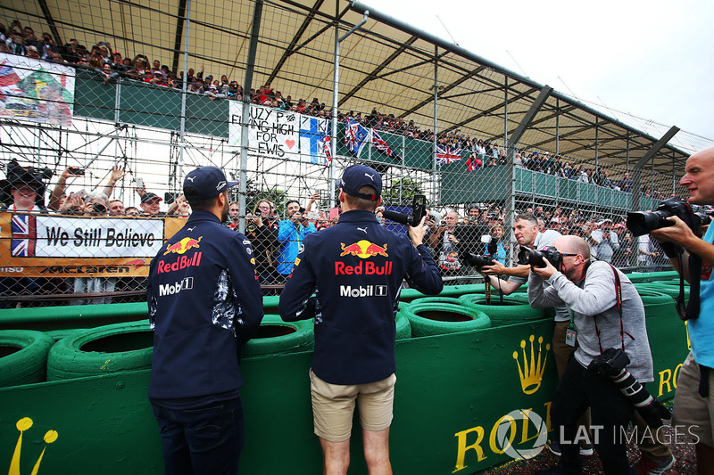 Daniel Ricciardo, Red Bull Racing y Max Verstappen, Red Bull Racing
