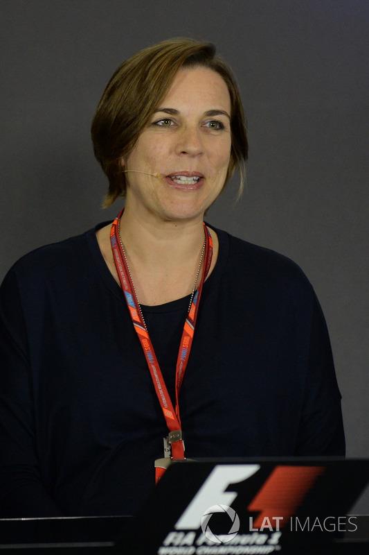 Claire Williams, Stellvertretende Williams-Teamchefin