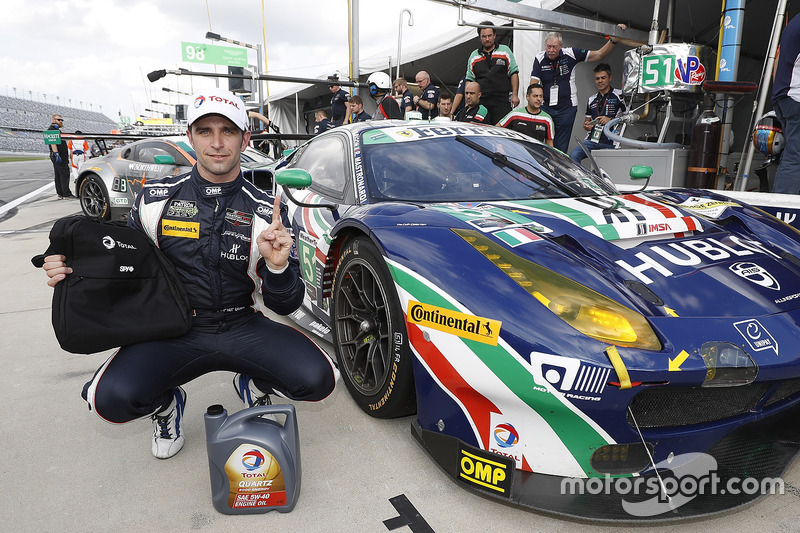 Pole GTD voor Alessandro Pier Guidi, Spirit of Race